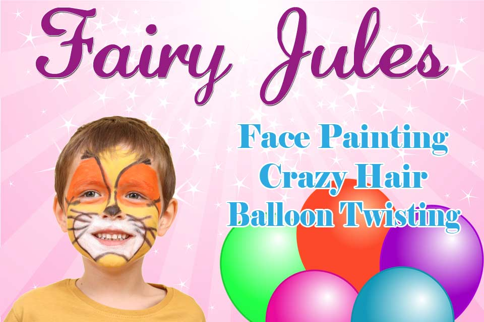 Fairy Jules Face Painting