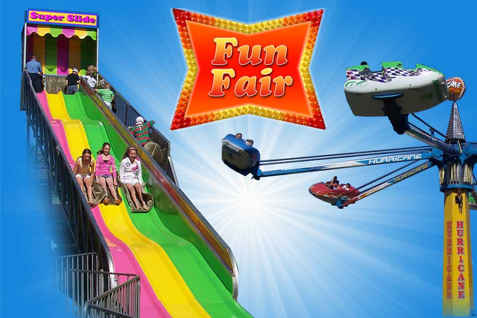 funfair amusement rides